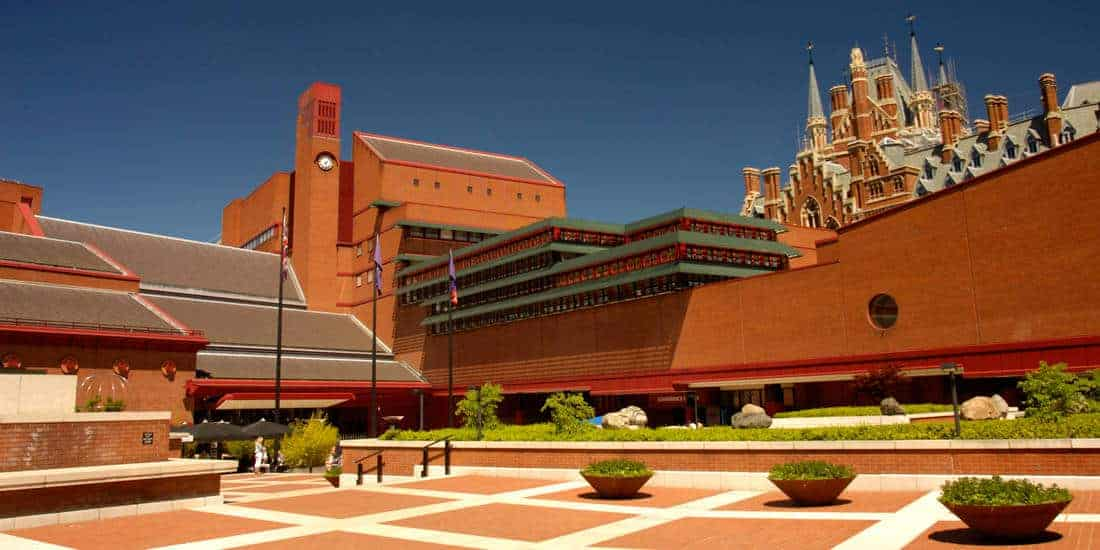 A Literary London Tour   British Library