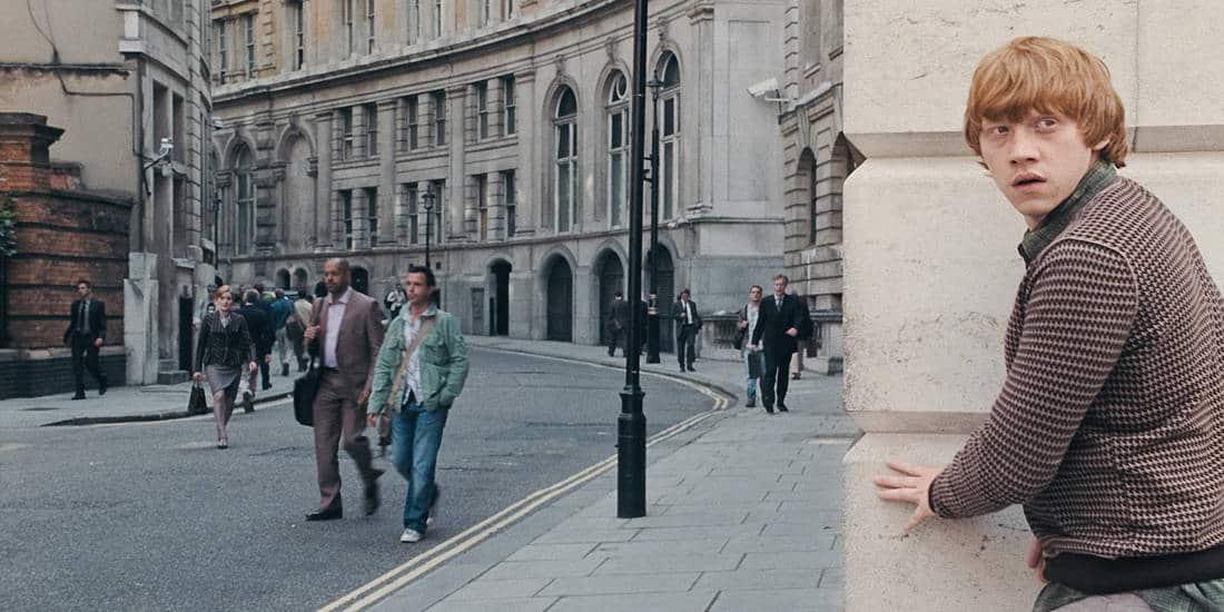 Harry Potter in London   Film Still