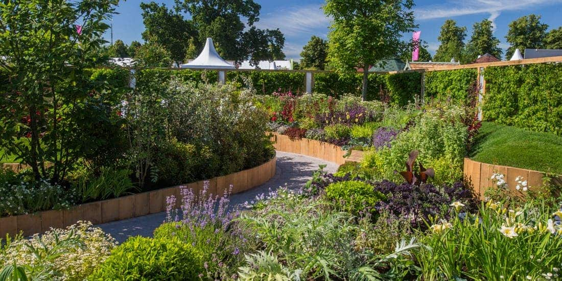 London in July | Hampton Court Palace FlowerShow