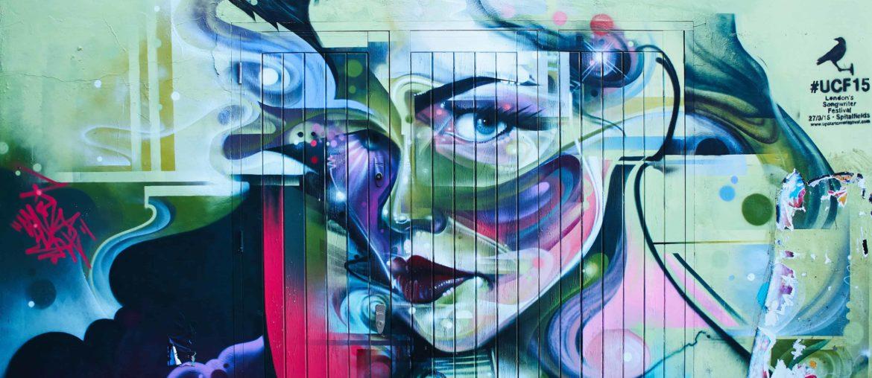 graffiti mural london