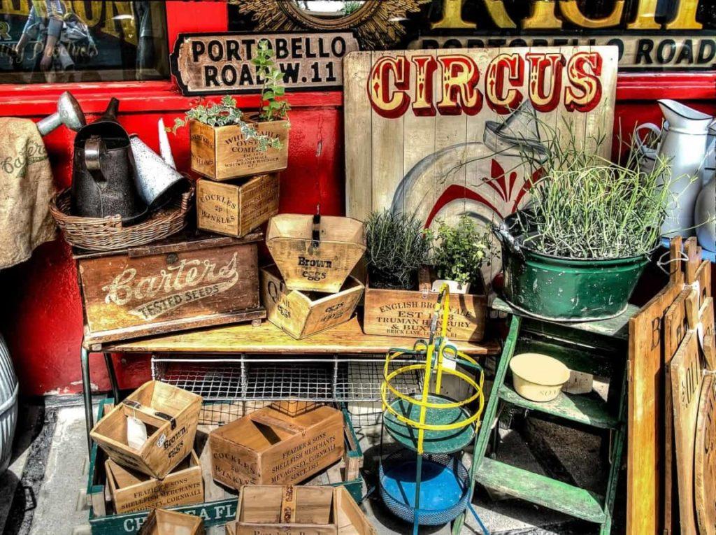 portobello road vintage market