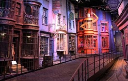 diagon alley at the harry potter studios tour
